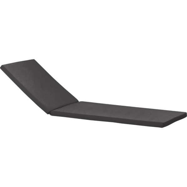 Regatta Sunbrella ® Charcoal Chaise Lounge Cushion