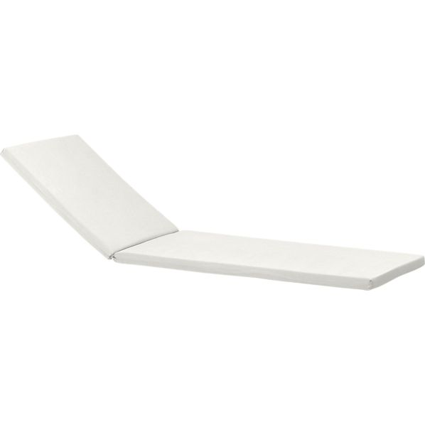 Regatta Sunbrella® White Sand Chaise Lounge Cushion