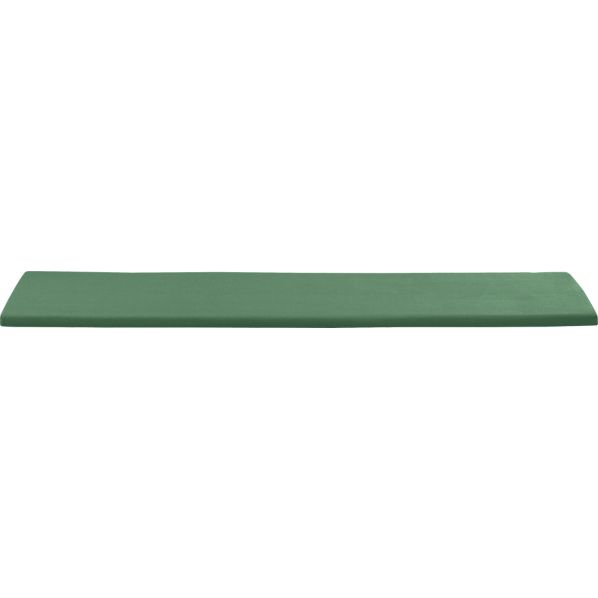 Regatta Sunbrella® Bottle Green Dining Bench Cushion