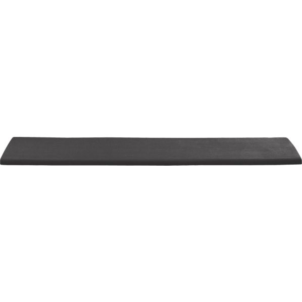 Regatta Sunbrella® Charcoal Dining Bench Cushion