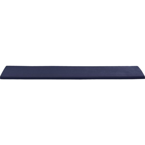Regatta Sunbrella® Indigo Dining Bench Cushion