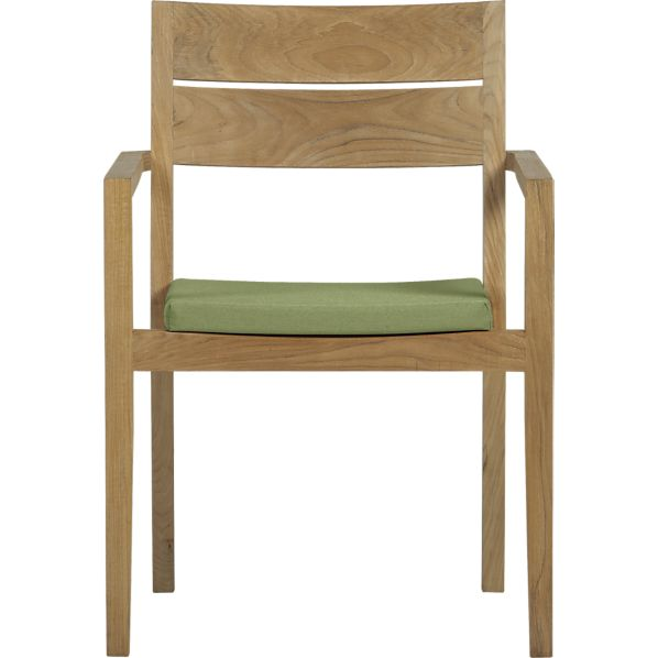 Regatta Dining Chair with Sunbrella® Cilantro Cushion