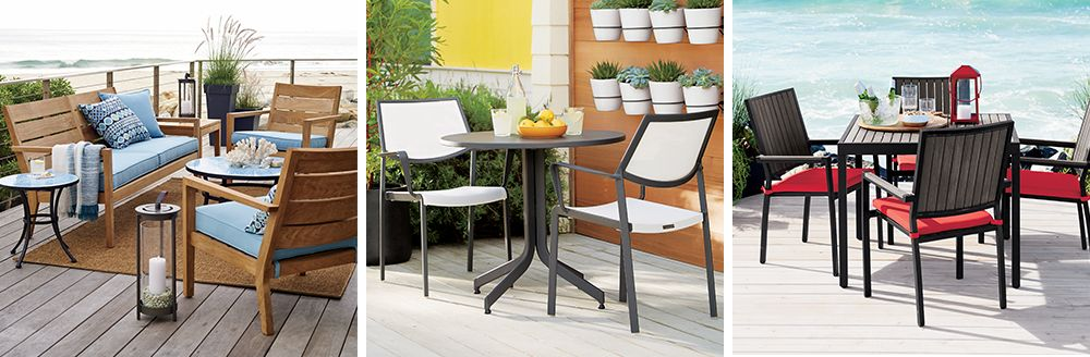 Regatta, Largo and Alfresco Outdoor Collections
