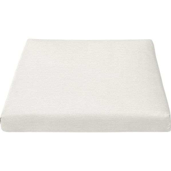 Regatta Sunbrella® White Sand Lounge Chair Cushion