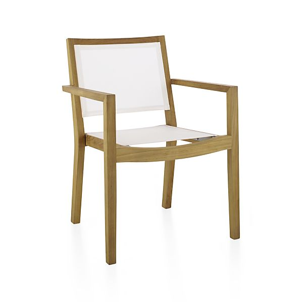 Regatta Mesh Dining Chair In Regatta Dining Crate And Barrel
