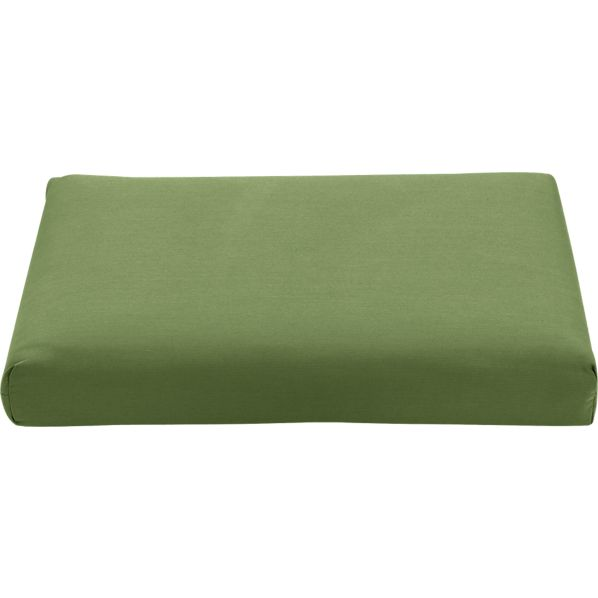 Regatta Sunbrella® Cilantro Modular Armless Chair/Ottoman Cushion