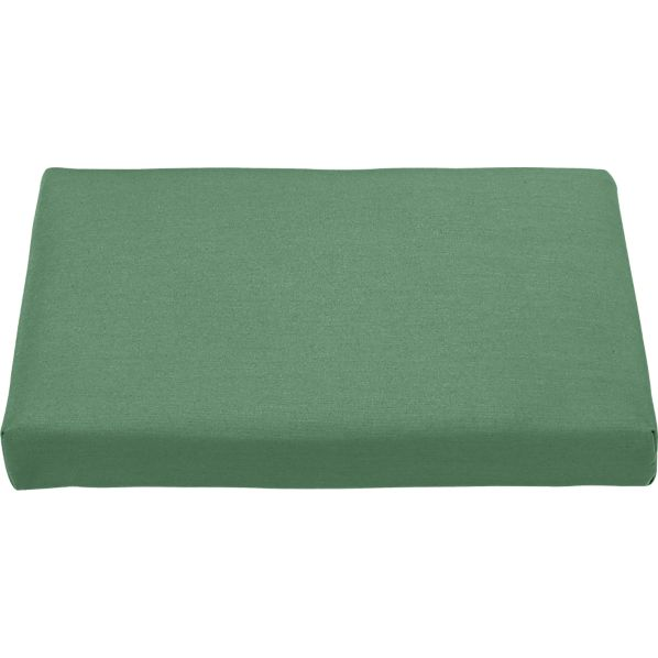 Regatta Sunbrella® Bottle Green Ottoman Cushion