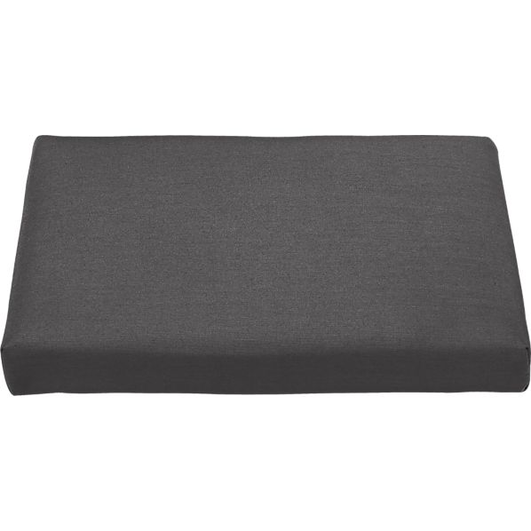 Regatta Sunbrella ® Charcoal Ottoman Cushion