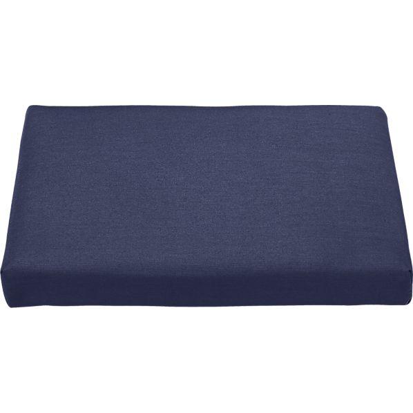 Regatta Sunbrella ® Indigo Ottoman Cushion
