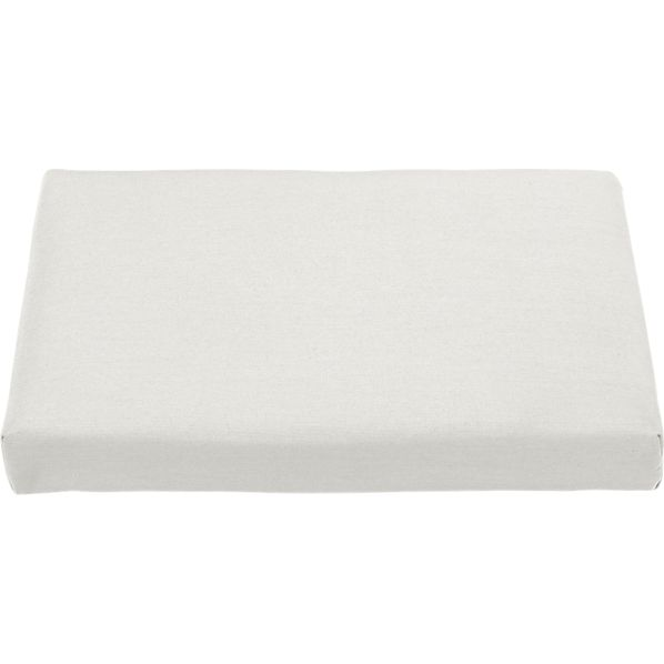 Regatta Sunbrella® White Sand Ottoman Cushion
