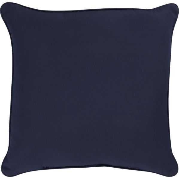 "Sunbrella® Indigo 20"" Sq. Outdoor Pillow"
