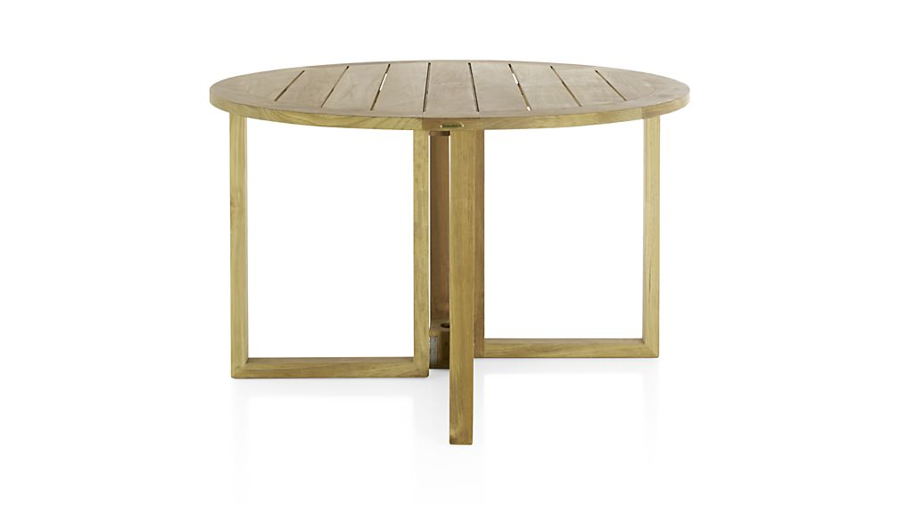 Regatta Round Drop-Leaf Table