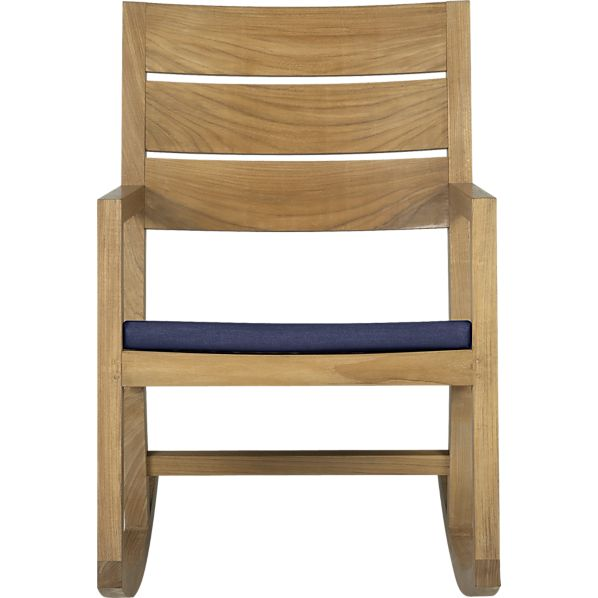 Regatta Rocking Chair with Sunbrella ® Indigo Cushion