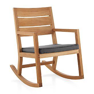 Regatta Rocking Chair with Sunbrella ® Cushion