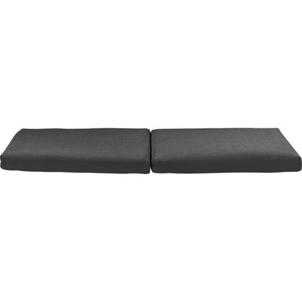 Regatta Sunbrella ® Charcoal Sofa Cushions