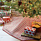 "Reilly Red 52"" Tree Skirt"