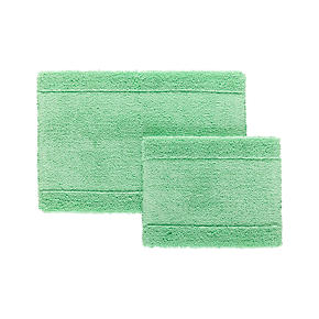 Reversible Mint Bath Rug