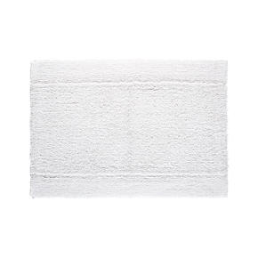 Reversible White 24x36 Bath Rug