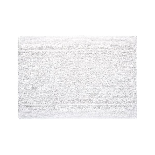 "Reversible White 24""x36"" Bath Rug"