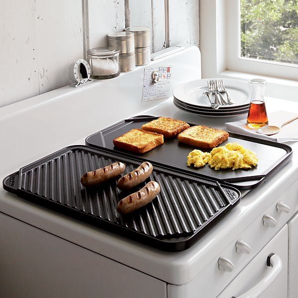 Reversible Double Griddle