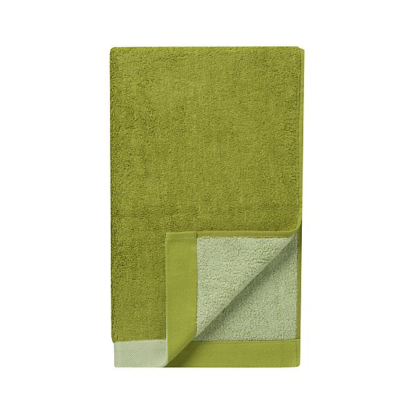 Reversible Green Hand Towel