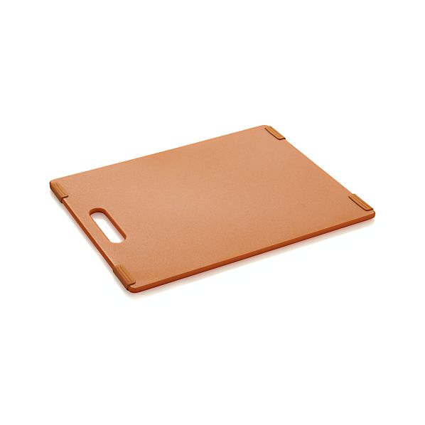 Jelli ® Orange Nonslip Reversible Cutting Board