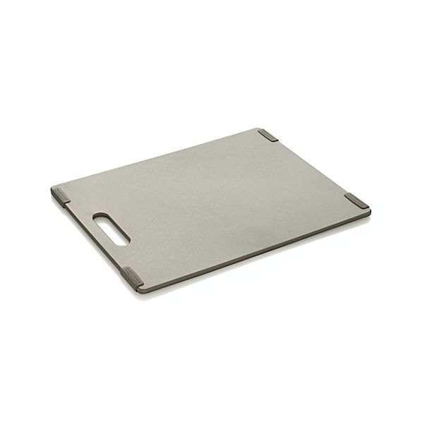 Jelli ® Pewter Nonslip Reversible Cutting Board