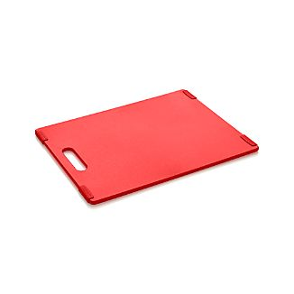 Jelli® Red Nonslip Reversible Cutting Board