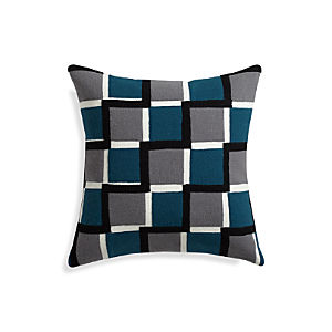 "Reyna Blue 20"" Pillow"