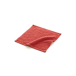 Ribbed Coral Washcloth