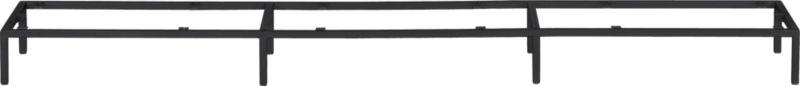 Customized base in matte black steel tube supports our Rigby media console.<br /><br /><NEWTAG/><ul><li>Steel tube with black powdercoat finish</li><li>Connecting hardware included</li><li>Made in Indonesia</li></ul>