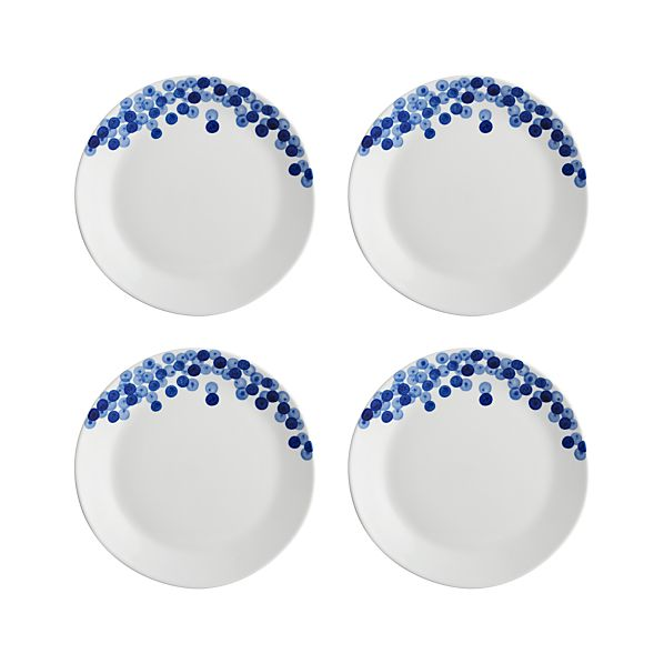 Set of 4 Rika Salad Plates