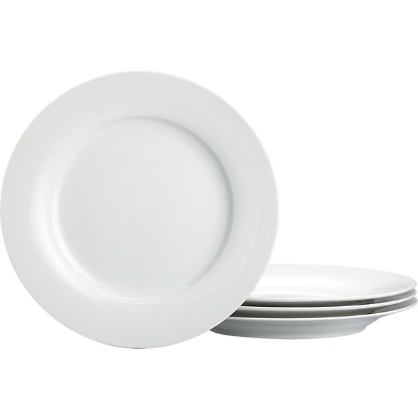 Rim Salad Plates Set of Four