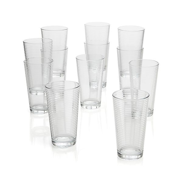 Set of 12 Rings Cooler Glasses