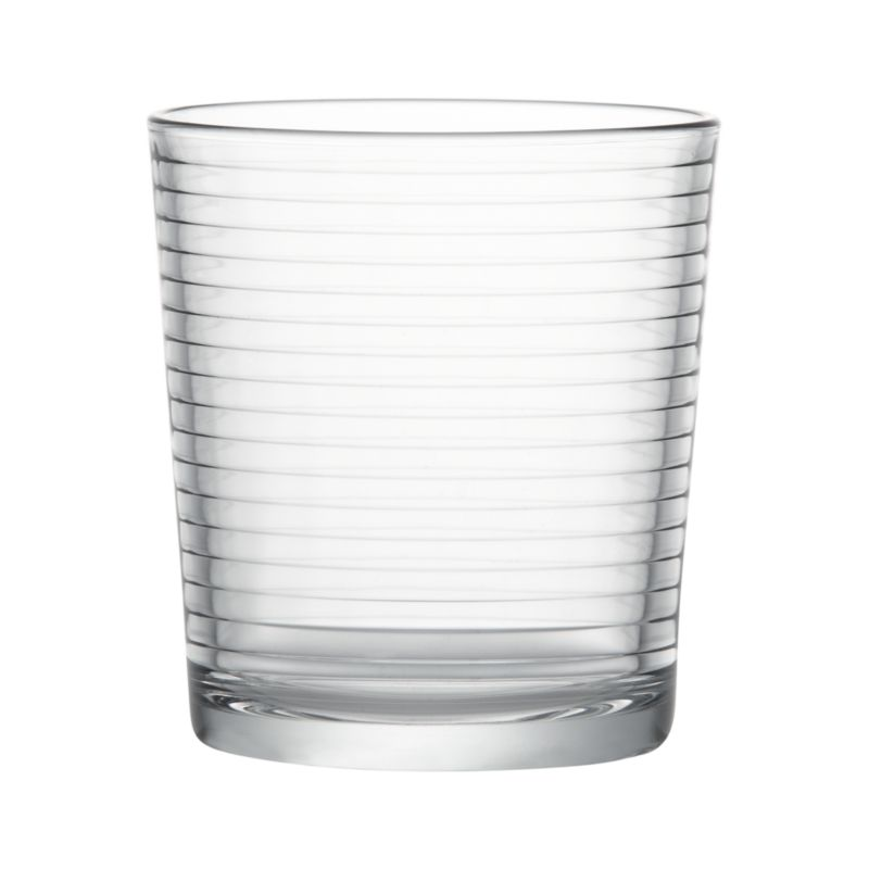 Embossed rings on a classic drinkware shape.<br /><br /><NEWTAG/><ul><li>Dishwasher-safe</li><li>Made in Bulgaria or Turkey</li></ul><br />
