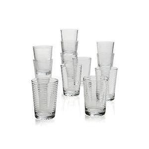Rings Juice Glasses Set of 12