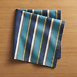 Riva Blue Stripe Napkin