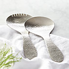 Riviera 2-Piece Short Serving Set.