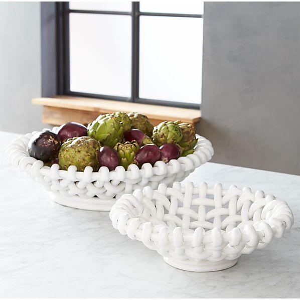 Riviera Woven Bowls