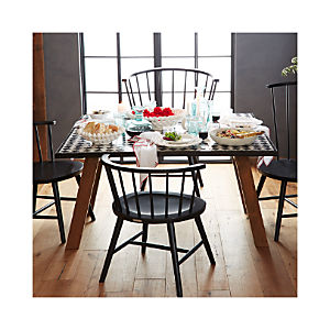 Riviera Square Zellij Tile Top Dining Table