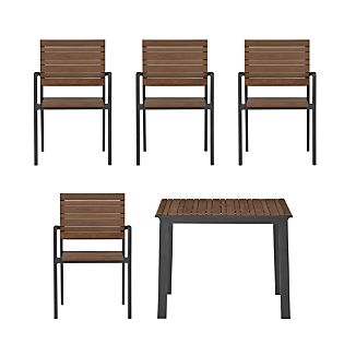 Rocha 5-Piece Cafe Dining Set
