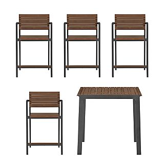 Rocha 5-Piece High Dining Set