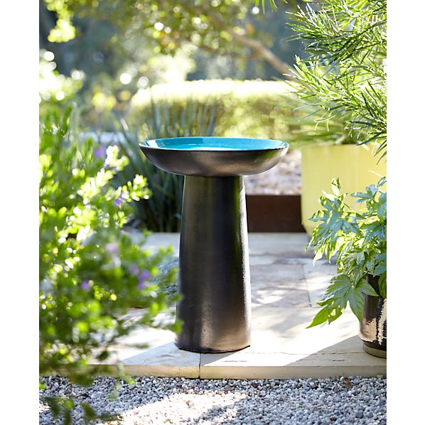 Kamala Bird Bath Bowl with Stand