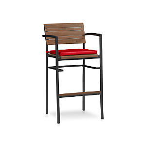 Rocha Bar Stool with Sunbrella ® Cushion