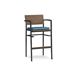 "Rocha 30"" Bar Stool with Sunbrella ® Cushion"