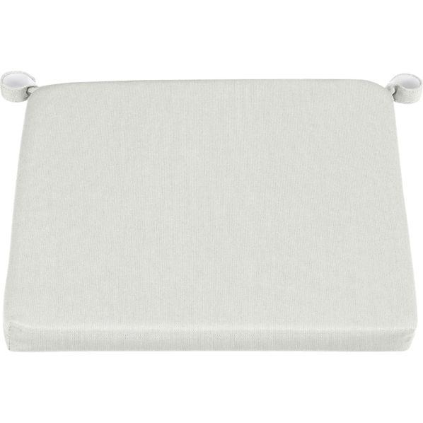 Rocha Sunbrella ® White Sand Dining Chair-Bar Stool Cushion