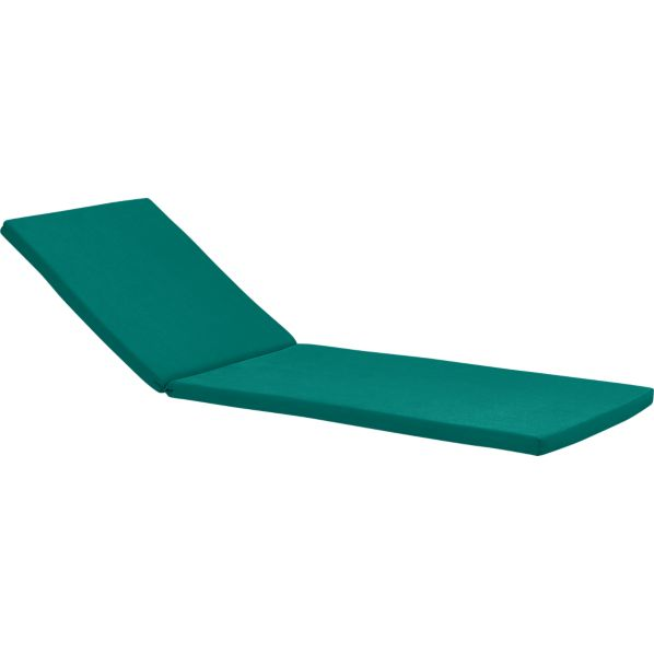 Rocha Sunbrella® Harbor Blue Chaise Cushion