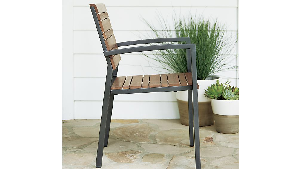Rocha Dining Chair with Sunbrella ® Cushion