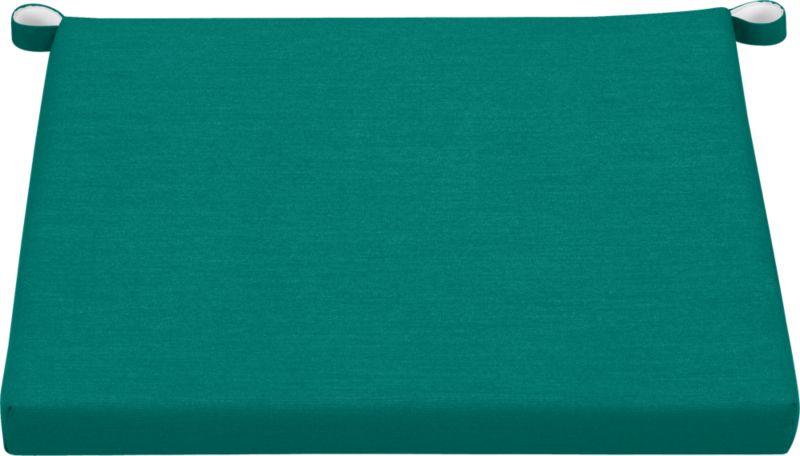 Add extra comfort to Rocha lounge chair with fade-, water- and mildew-resistant Sunbrella® acrylic cushions in deep harbor blue.<br /><br /><NEWTAG/><ul><li>Fade- and mildew-resistant Sunbrella® acrylic</li><li>Polyurethane foam fill</li><li>Cushion is secured with fabric tab fasteners</li><li>Spot clean</li><li>Made in USA</li></ul>