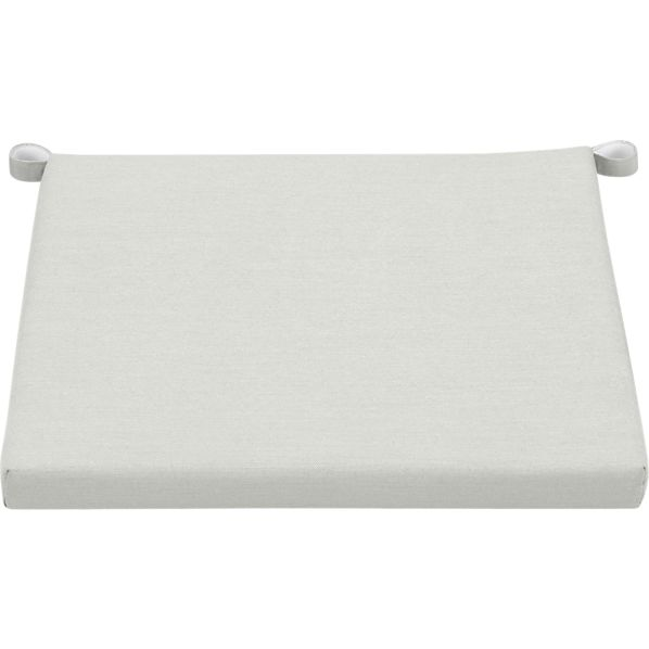 Rocha Sunbrella® White Sand Lounge Chair Cushion
